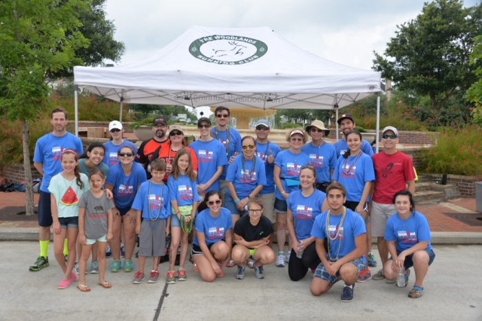 2015 Ironman TWRC aid station #7