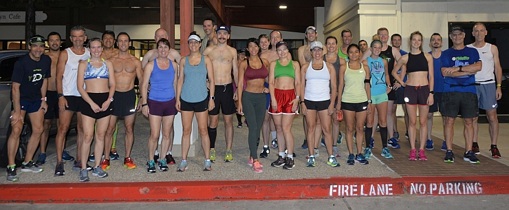 TWRC Sunday Group Run 10-7-2018