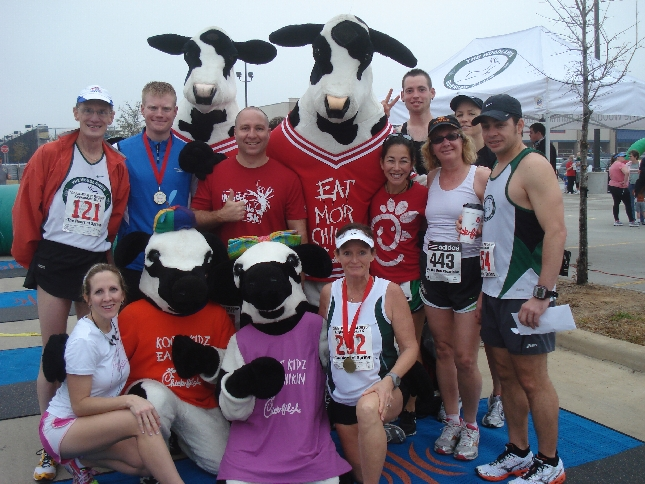 TWRC at the Chick-Fil-A 5K