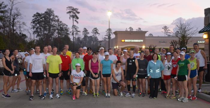 Another Sunday, Another Great Group Run 1-27-13