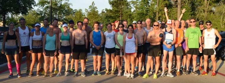 The Woodlands Group Run 6-30-13