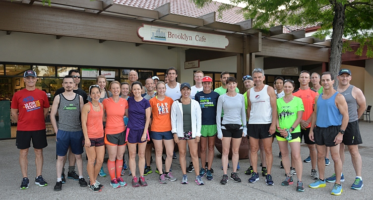 TWRC Sunday Group Run 5-6-18