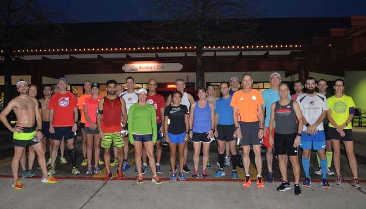Sunday run group 1-1-2017