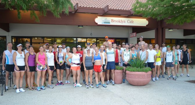 Sunday Run from Brooklyn Cafe (AKA Brooklyn Bagel, Bagel Hut)