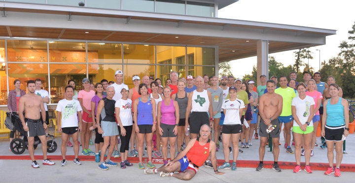 The Woodlands Group Run 9-12-15