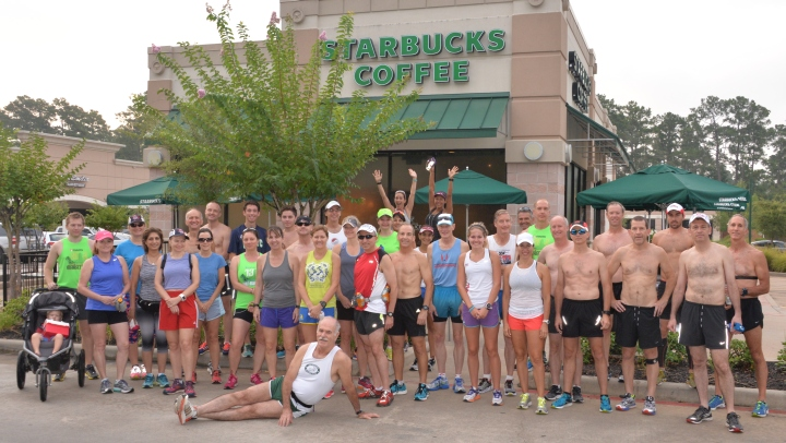 The Woodlands Group Run 7-26-15