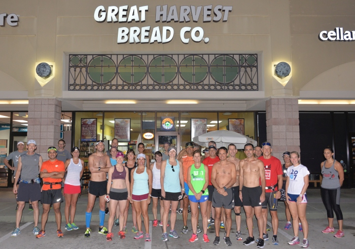 The Woodlands Running Club Group Run 9-27-15